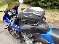 Motorbike bagster tank bag
