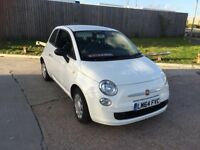 2014 FIAT 500 1.2 ONLEY 19000 MILEAGE MAIN DEALER SERVES HISTORY