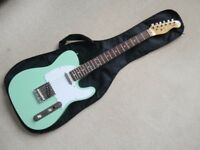 Telecaster Guitar Green