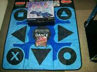 PLAYSTATION DANCE MAT SUITABLE FOR 1 OR 2 SYSTEMS BOXED **£ 5 **