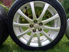 17 inch alloy wheels for Toyota