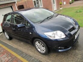 image for 49000 MILES, TOYOTA AURIS, ONE OWNER FROM NEW, FSH, PART-EXCHANGE TAKEN