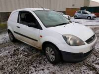 Ford fiesta van 2009 mot march 148k miles