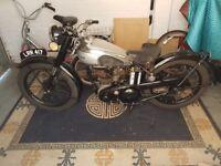 1950 BSA C11 Motorcycle