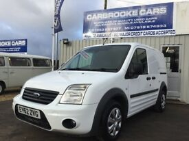 2012 62 FORD TRANSIT CONNECT TREND - T200 - 85,000 MILES FSH - NO VAT - 12 MONTHS MOT - SERVICED -