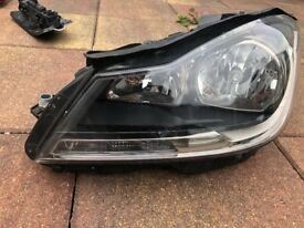 Mercedes w204 headlight