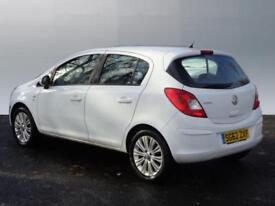 Vauxhall Corsa SE (white) 2012-09-01
