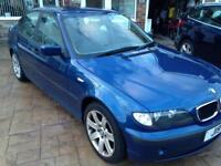 2002 BMW 316iSE 1.9 petrol, great bodywork, non starter.