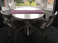 IKEA (Extendable) Dining Table & Chairs. Great condition!