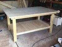 Hand made 6 x 4 ft workbench