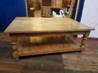 Soft Pine Coffee Table 4ft x 3ft