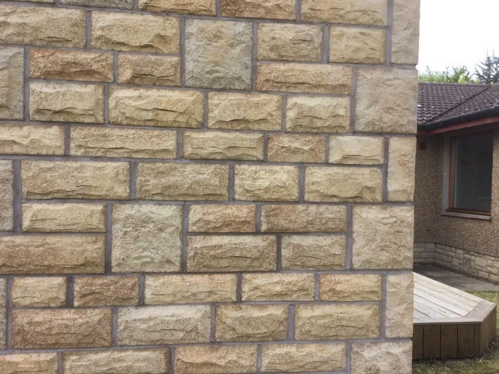 Bradstone Cotswold Buff Walling Blocks In Meadows