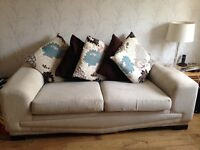 FREE- 3 Seater Sofa From ScS- Beige