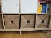 IKEA KNIPSA rattan storage baskets £8 each ( retail at £16 each) - we have 4 of them