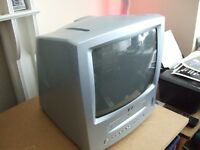 tv with video player recorder combined in superb condition