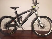 "Trek Remedy 9.9 Mountain Bike - Full Carbon - Large - 26"""