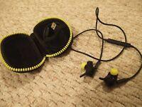 Jabra Sport Pulse Wireless Bluetooth Earphones Heart Rate Monitor Black/Yellow
