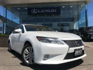 2013 Lexus ES 350 Leather and Navigation Backup CAM Power Sunroo