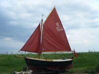 Sailing boat, Loch Broom post boat, £5000. ono.