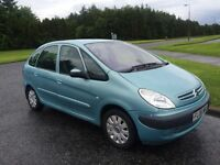 2006 citreon Picasso 1.6 hdi mot and tax