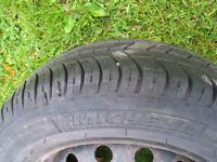 peugeot / citroen wheel michelin tyre 175 / 65 / 14 inch / 4 stud