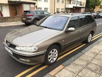 LHD LEFT HAND DRIVE PEUGEOT 406 2.0 PETROL SILVERTOP ENGINE FULLY LOADED. LIKE NEW !