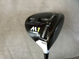 Taylor made m1 driver+ two ball putter driver used for one round