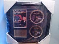 JAMES BOND GOLDENEYE EXCLUSIVE LIMITED EDITION FRAMED DVD PRESENTATION
