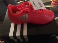 Brand new kids football boots
