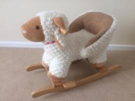 Lovely rocking sheep - in excellent condition.