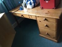 Wooden Desk for sale collection only by Thursday