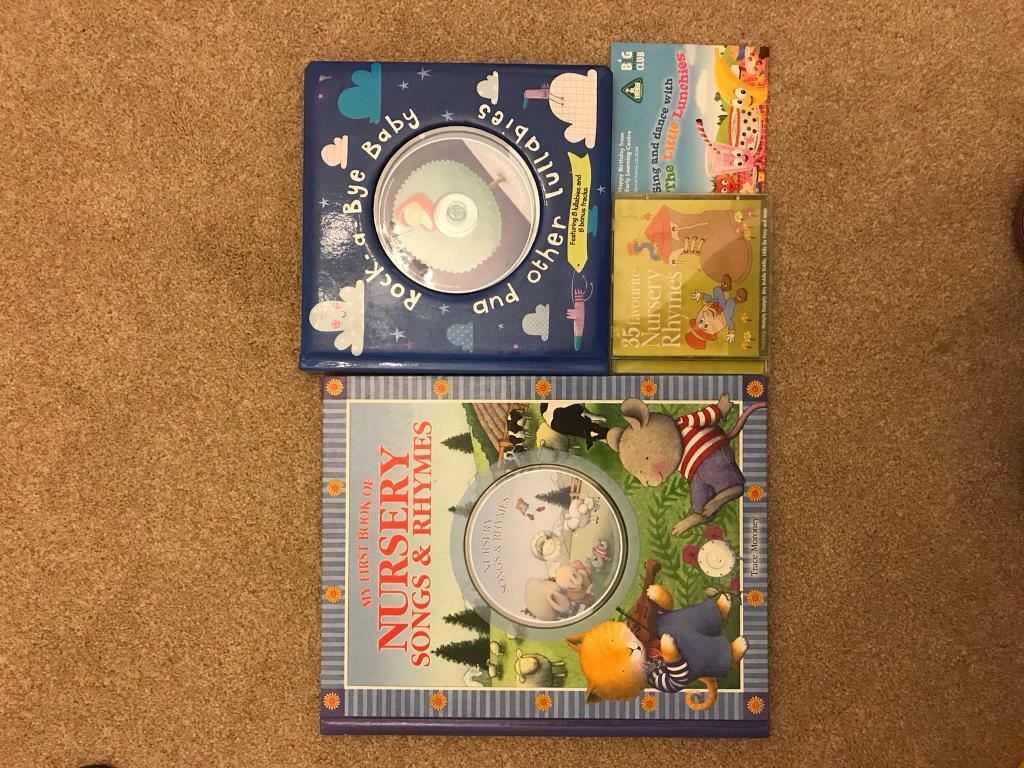 Nursery Rhymes books and cds