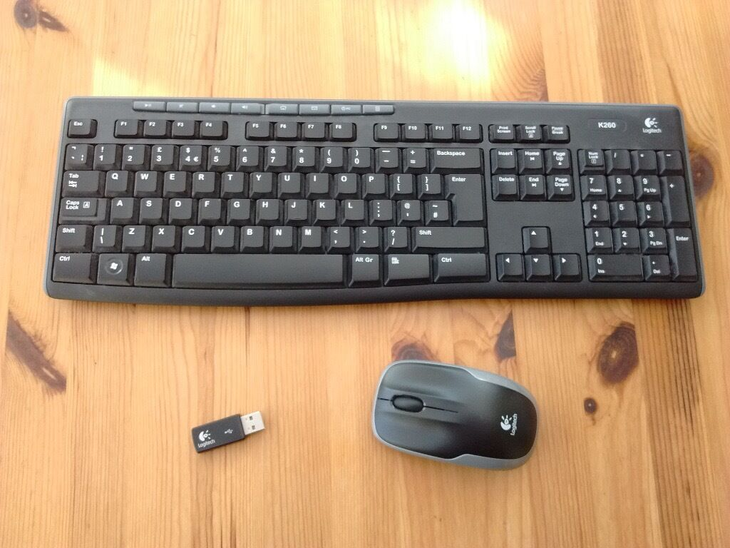 logitech k260 wireless keyboard and mouse in brighton east sussex gumtree. Black Bedroom Furniture Sets. Home Design Ideas