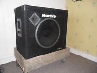 Hartke VX115 300 w Bass Speaker Cab.