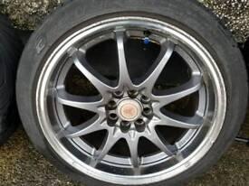 Alloy wheels 17s