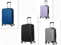 """28"""" Hard Shell Cabin Suitcase Case 4 Wheel Luggage Spinner Lightweight"""