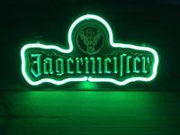 Jagermeister neon bar sign