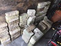 Bradstone Blocks UNUSED Approx 90