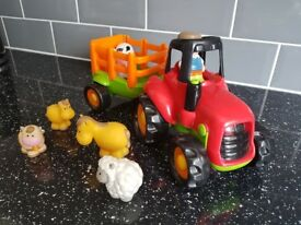 Early learning centre happy land tractor