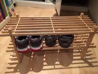 Like new shoe rack