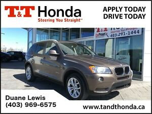 2013 BMW X3 xDrive28i *Bluetooth, No Accidents, Local Car
