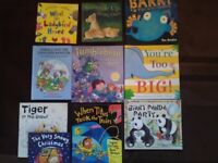Large bundle of children's story books