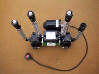 Salamander ESP75CPV Shower pump 2.2 Bar with 4 hoses and plug