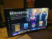Samsung 49 inch curved 4K smart tv