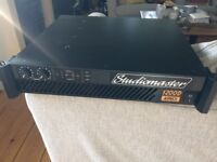 Studiomaster 1200D Dual Channel power amp
