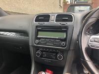 Genuine VW RCD310 LED Display CD/AUX/Bluetooth (From a MK6 Golf Gti)