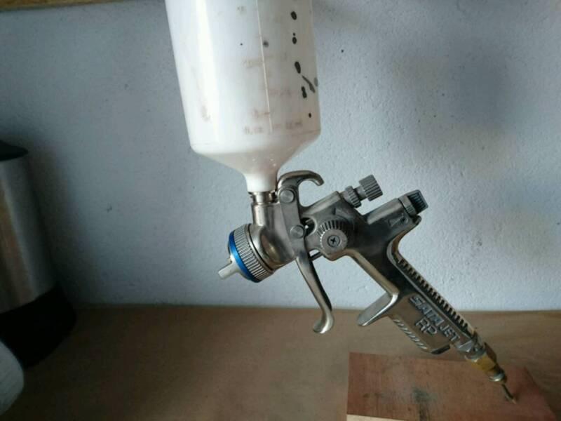 sata jet rp lackierpistole 1 3 in sachsen borna ebay. Black Bedroom Furniture Sets. Home Design Ideas