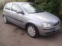2004 Vauxhall Corsa Active 3dr 1.2 in silver Good car for the money