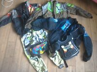 Motocross paddock jackets/trousers/bag