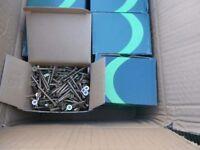 wood screw 5x50mm wood screws 200 per box brand new